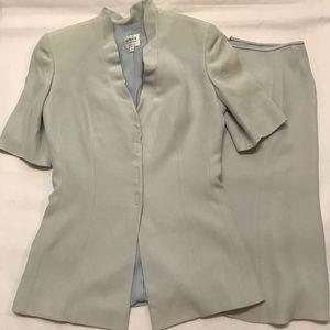 Armani Collezioni Bluenskirt Suit Sz 6